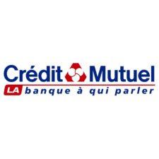 Le Crédit Mutuel fait partie de nos partenaires